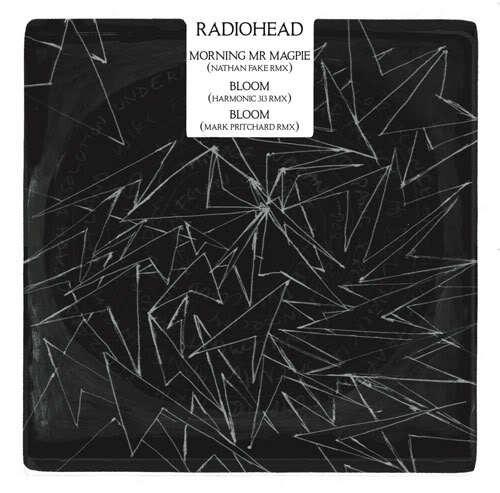 radiohead the king of limbs remix series #radiohead #square #bw