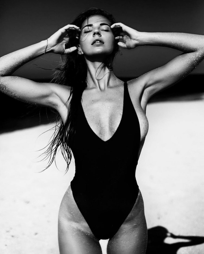 Black and white fashion photography by vladislav spivak