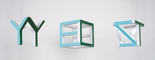 YesandNotYesSide.jpg (650×255) #sculpture #tauba #auerbach #art #typography