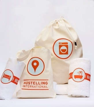 Carly Lane Design Portfolio | Hostelling International #branding #packaging #screenprint #identity #logo