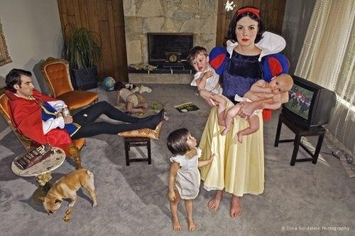 Fallen Princesses by Dina Goldstein » Creative Photography Blog #inspiration #creative #photography