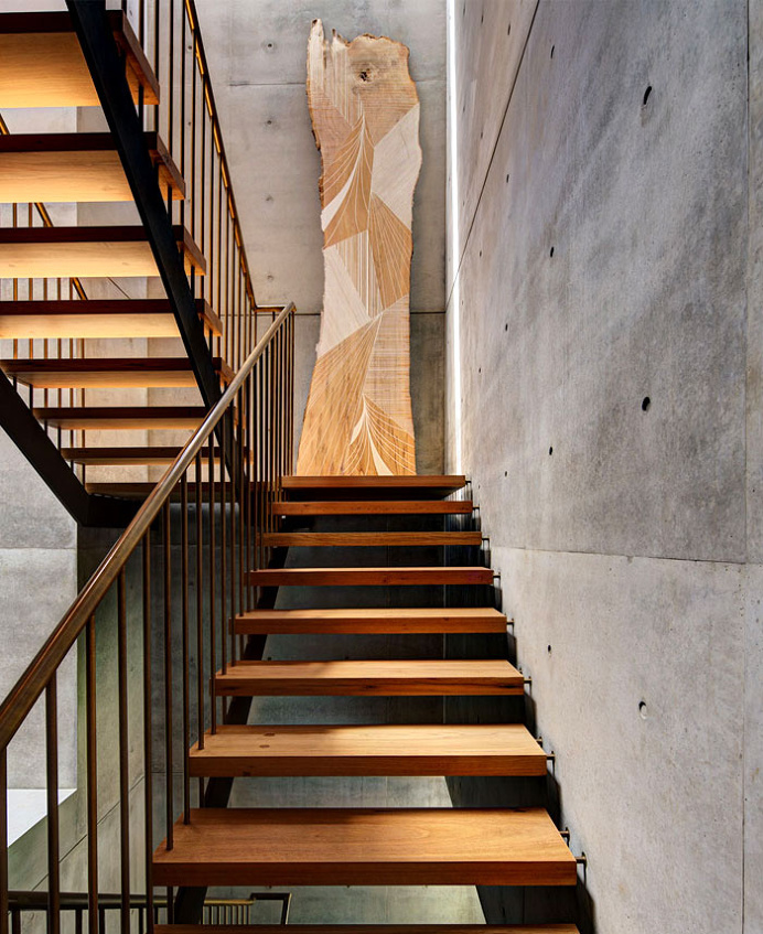 Balmoral House and the Beauty of a Lifetime Art Collection - stairs, staircase, architecture, interior design, home #design, #stairs
