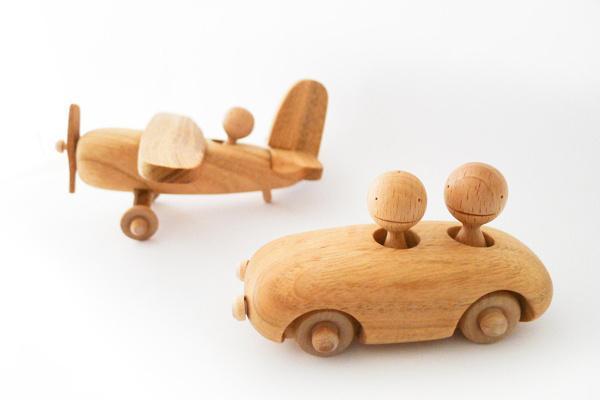 aprilandmayMINI #wood #plane #plain #car #toy