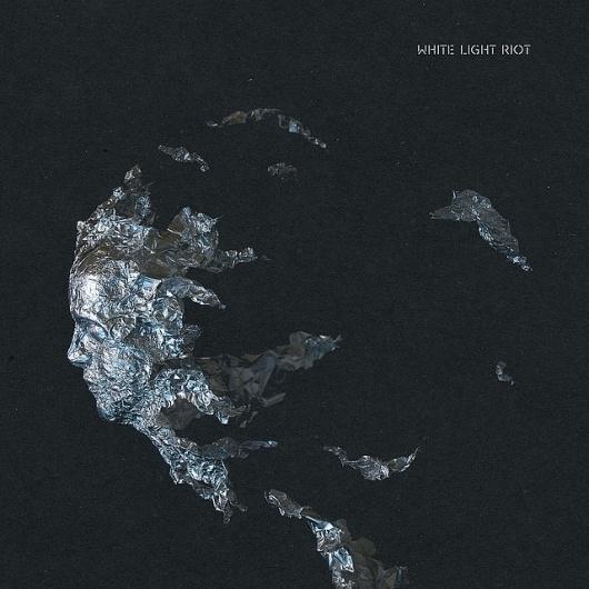 White Light Riot album art - front cover | Flickr - Photo Sharing! #white #flickr #laser #riot #light #bread