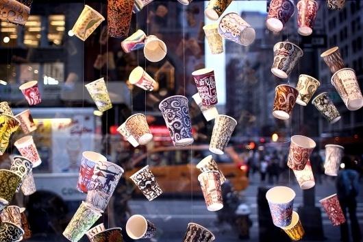 Rasmus Keger | Through the eyes of Rasmus Keger #window #display #coffee #cups