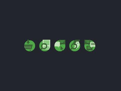 Dribbble greenicons #icon