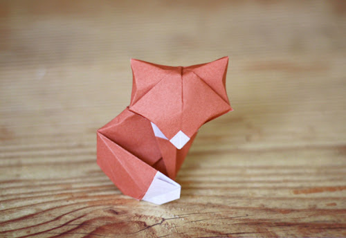 Another origami fox | How About Orange #origami