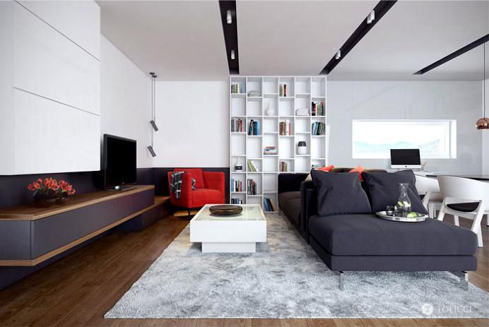 Trendy Interior by Tolicci Design Studio - interior design, interior, #decor, home decor, home #design, #interiordesign