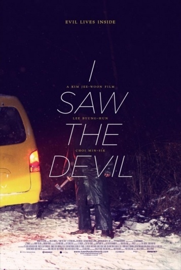 I Saw the Devil (aka Akmareul boattda) Poster - Internet Movie Poster Awards Gallery #promotional #poster #typography