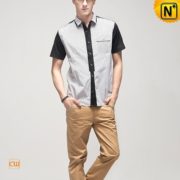 Designer Mens Short Sleeve Shirts CW100319 #shirts #sleeve #short