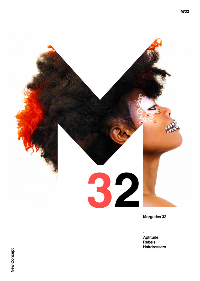 Poster by Xavier Esclusa M32 Hairdressers
