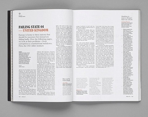 FFFFOUND! | Interview with Ken Leung from Monocle Magazine » Australian Edge #print #design #graphic