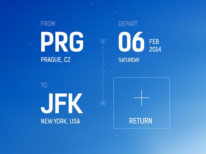 Flight Booking App Concept #inspiration #flight #ux #design #ui #app