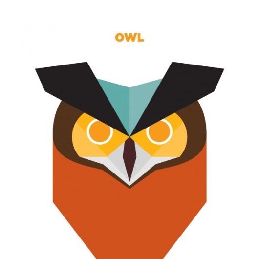 365 - Jag Nagra: Graphic Design for Print: Vancouver #owl #wildlife #bird #illustration #animal