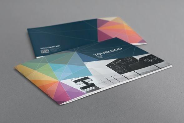 Multicolor Modern Brochure. Download here: http://graphicriver.net/item/multicolor-modern-brochure/7436397 #modern #print #colorful #multicolor #template #brochure