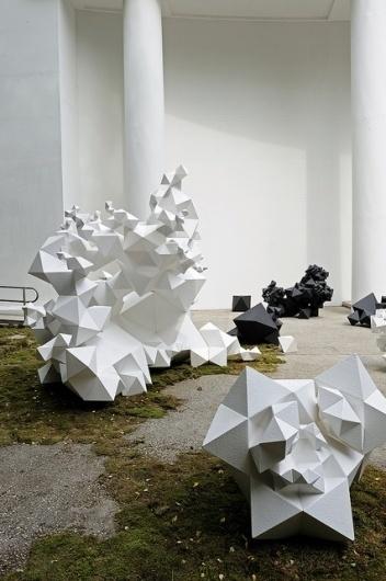 Modern Primitives Venice Biennale | Flickr - Photo Sharing! #generative #geometry #computational #primitive #lasch #architecture #aranda