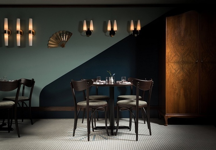Kissa Tanto Restaurant Inspired by the Vanishing Jazz Cafes of the 1960s