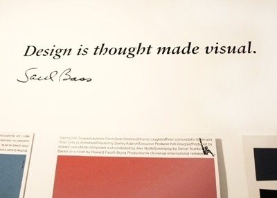 the johnson banks thought for the week #type #saul #bass