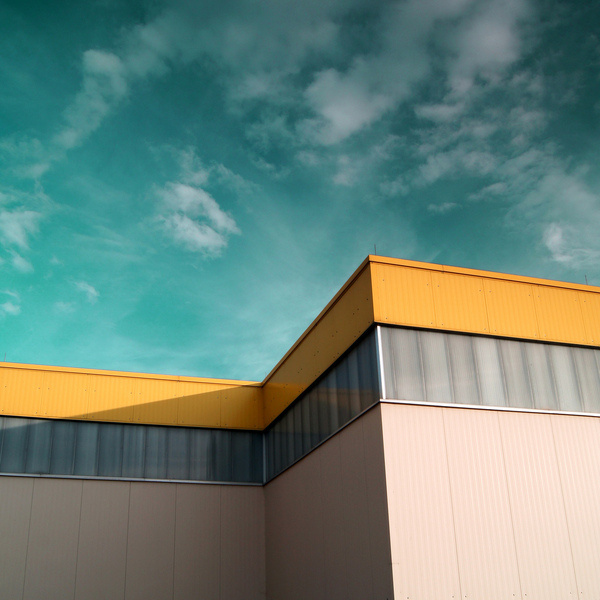 __________________________0070 #clouds #sky #building #architecture #saturated