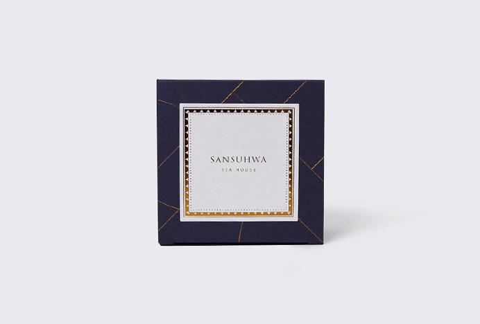 Sansuhwa Tea House by Studio Flag #packaging #box