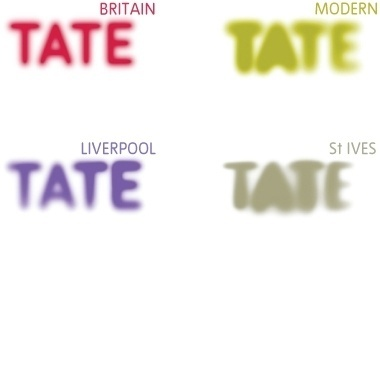 Newlyn - Tate – A custom typeface for Britain's national museums of art. #tate #branding #newlyn #identity #logo