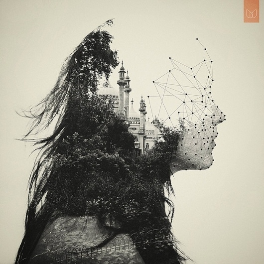 DanMountford Photography & Illustration – Illustration, Photography inspiration on MONOmoda #dots #photo #manipulation