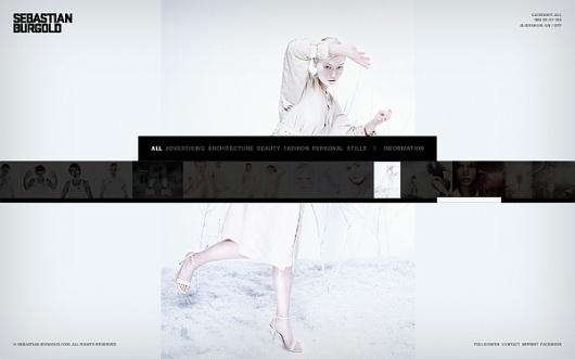 Visual identity / Sebastian Burgold on the Behance Network #interactive #rene #photography #bieder #web