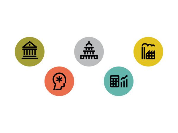 Bloomberg Markets #pictogram #icon #design #picto #symbol