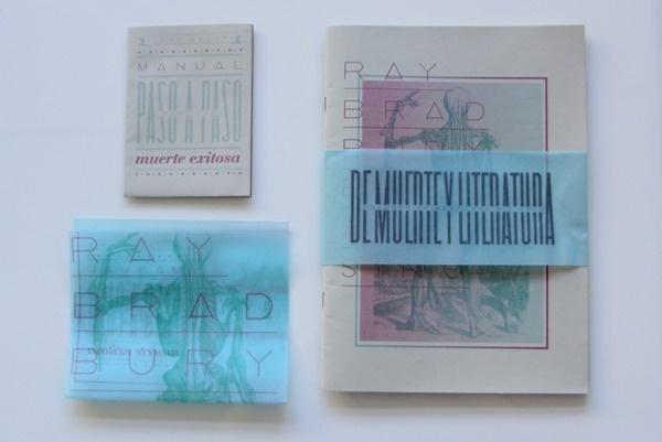 Maria Victoria Casafus - De Muerte y Literarura #print #illustration