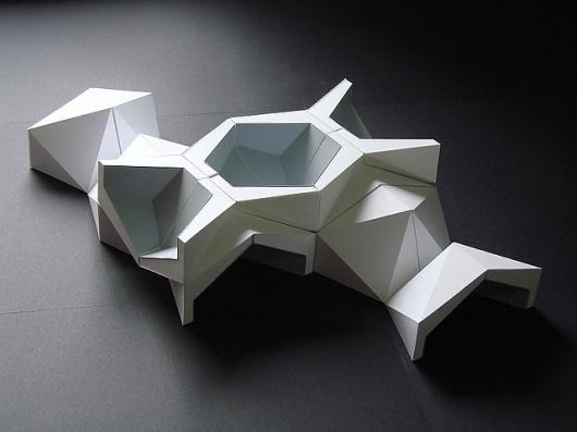 Icosa Dodeca - Lunar Colony | Flickr - Photo Sharing! #geometry #wyllie #origami #tiling #daniel