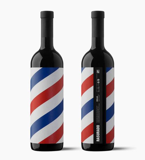 Wine Packaging #pattern #packaging #design #graphic #wine