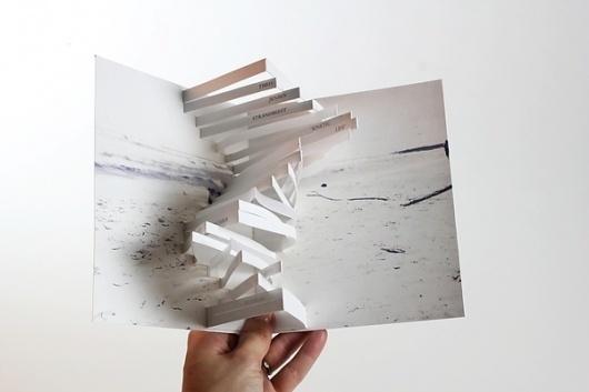 THEO JENSEN | invitation on the Behance Network #pop #design #book #photograph #up #paper