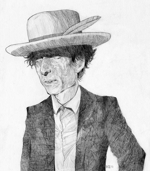 Drawings by artist Ehren Salazar #illustration