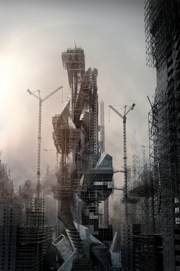 JONATHAN GALES :: FILM | VIDEO | ANIMATION #post #apocalyptic #architecture #buildings