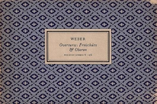 Jan Tschichold for Penguin Scores, 1949 | Type Desk #design #graphic #book #cover #tschichold #jan #music