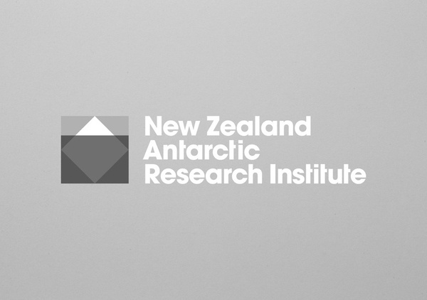 Logo designed by BRR for New Zealand Antarctic Research Institute #logo #brand #identity