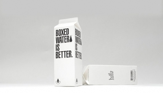 Now Drinking | Boxed Water Is Better - NYTimes.com #packaging #honest #sustainability