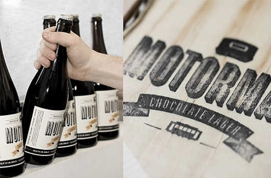 Motorman : Lovely Package® . Curating the very best packaging design. #packaging #beer #label