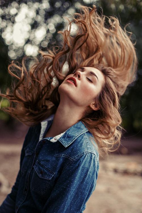 hannah – make-up & hair by eva gerholdt #fashion #photography #hair #style
