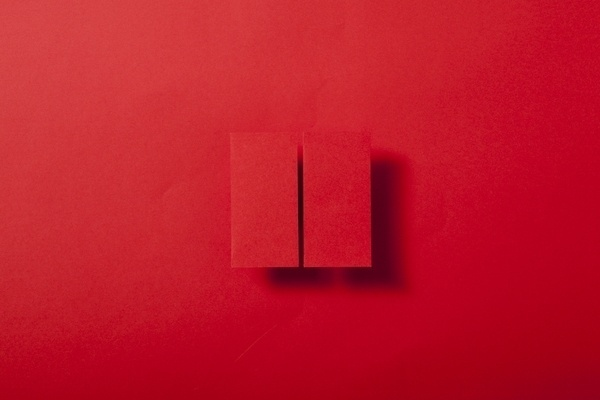 Paper & Shadow on the Behance Network #paper #origami #red #shadow