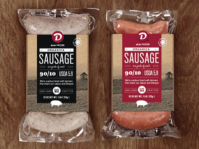 Sausage #packaging #meat