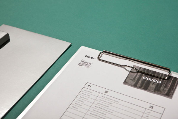 CO/COÂ The Dieline #letterhead #identity
