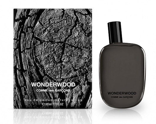 Wonderwood by Comme des Garcons #white #packaging #design #graphic #des #black #and #comme #garcons