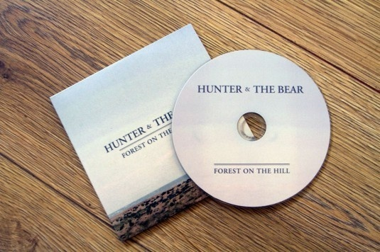 Hunter & The Bear #album #ep #folk #hill #the #on #photography #beards #art #forest #cd