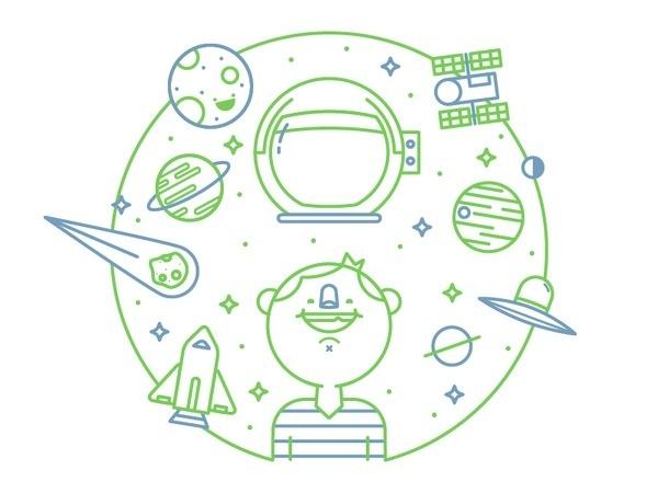 Space is AMAZING #illustration