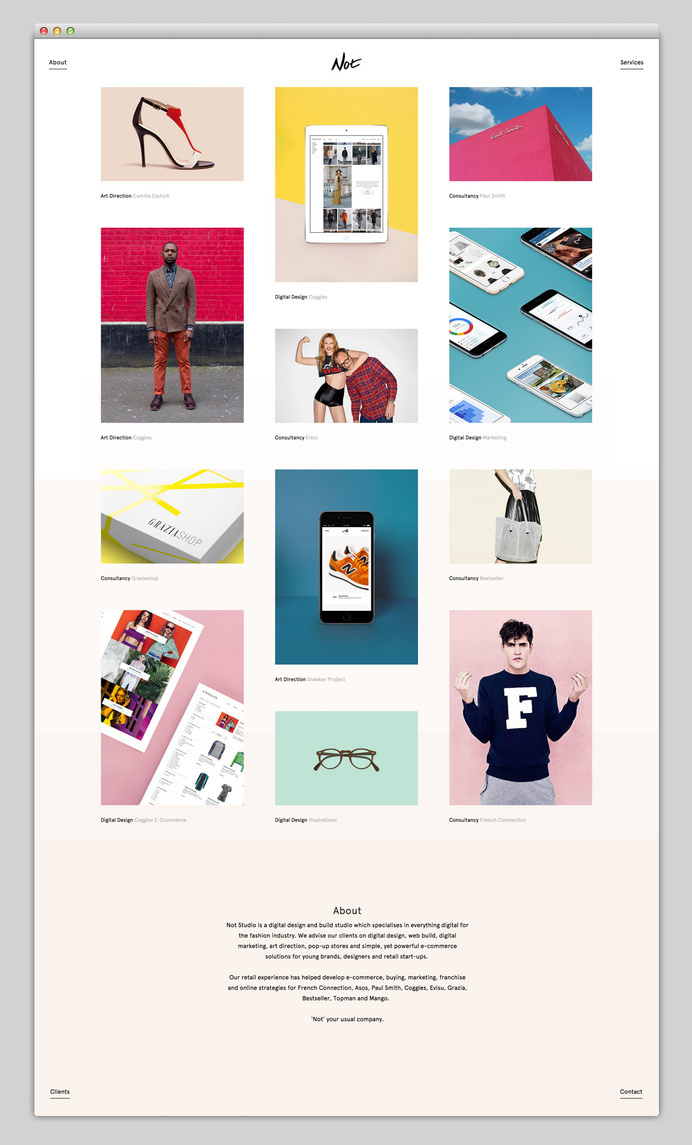 Most beautiful websites collection – www.mindsparklemag.com #web