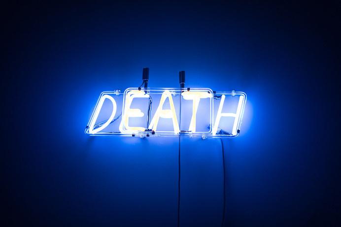 #death #neon #installation
