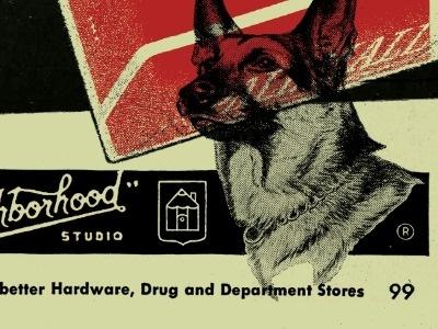 Dribbble - More Exploration by Curtis Jinkins #jinkins #neighborhood #cutris #studio #dog