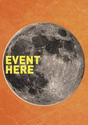 Random Design Stuff on the Behance Network #space #moon