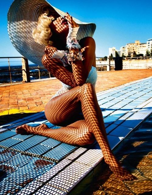 Fashion photography(Charissa Du Plessis byKristian SchullerforFrench Revue De Modes#22, Spring/Summer 2013)